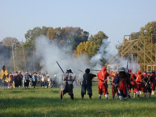 Training Battle, Historic St Mary's City