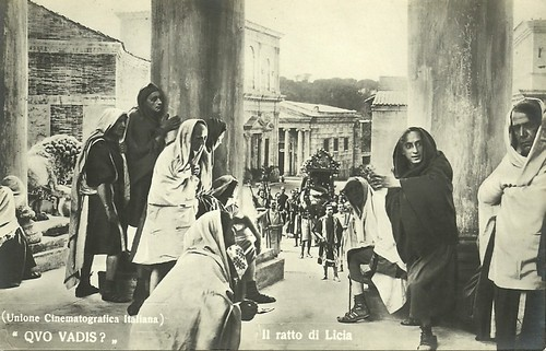 Quo vadis 1925 The kidnapping of Lygia