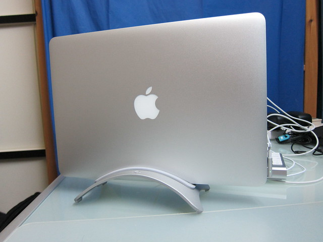 Twelve South BookArc - With MacBook Air (Front View)