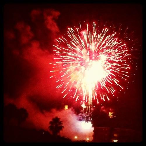 Focs d'artifici. Sant Joan. Vilassar de Mar.