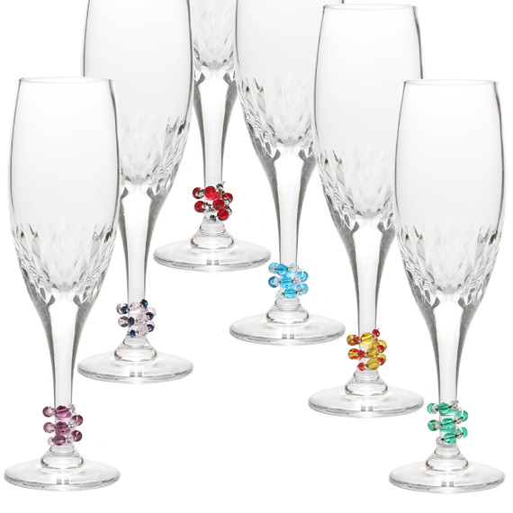 Set Of 6 Unique Wine Glass Markers Flickr Photo Sharing