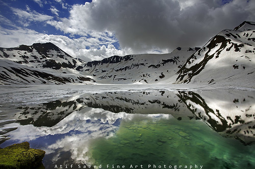 pakistan mountain lake mountains nature water landscape atifsaeed