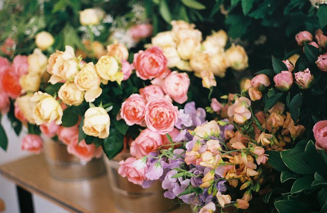 Roses and Sweetpeas