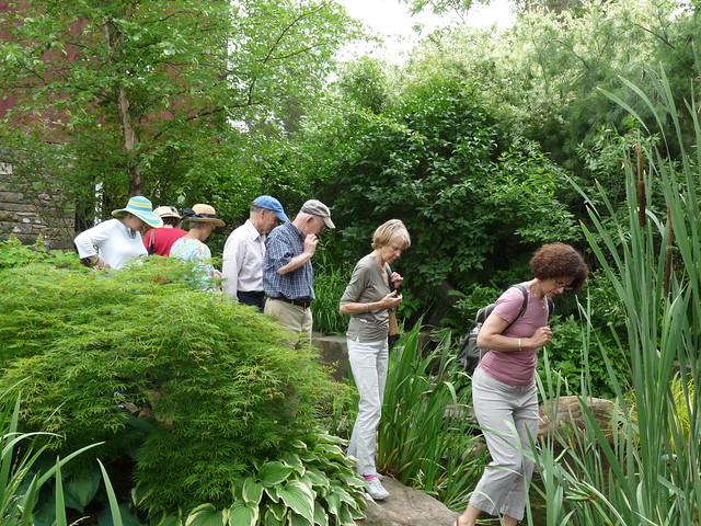 Gager Society garden trip. Photo by April Greene.