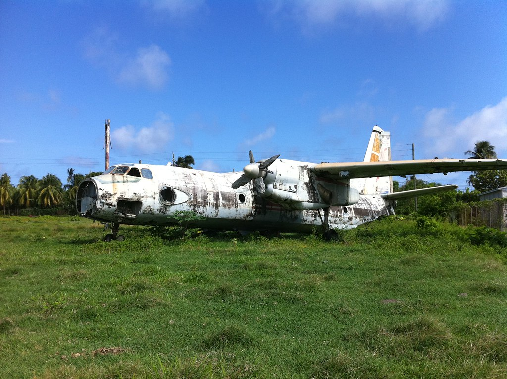 An-26 Military Soviet Airplane, Pearls Airport, Grenada