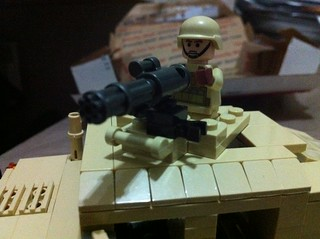mini gun on the humvee
