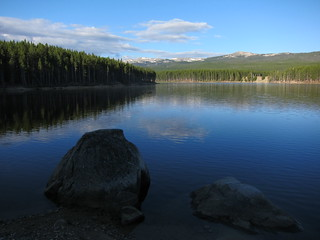 Park Reservoir, Wyoming