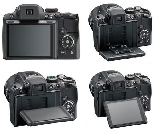 Nikon P500 -- Tilting LCD