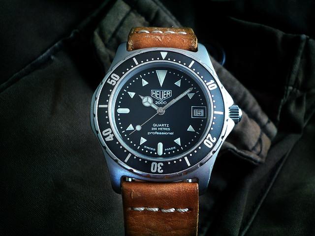 Heuer diver 2000 series heuerville - Heuer dive watch ...