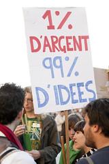 Indignants Demonstration (13) - 15Oct11, Paris (France)