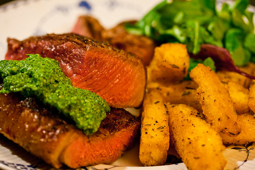 Steak and watercress pesto-15