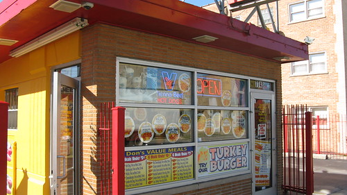 Don's Hot Dogs on South Kedzie Avenue in Chicago's Ashburn neighborhood.  Chicago Illinois USA.  Saturday, October 15th, 2011. by Eddie from Chicago