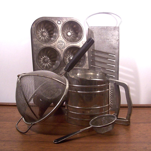 Vintage Kitchen Utensils Images: Vintage Metal Baking Kitchen Tools