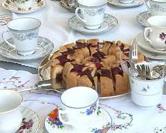 High Tea at Kilbirnie Library