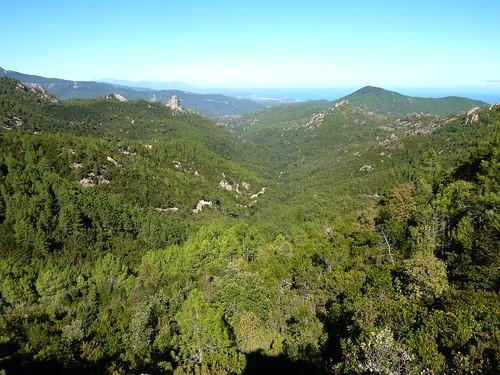 Bocca d'Alzeta Longa : vallée du ruisseau de Mulinelle versant Sari