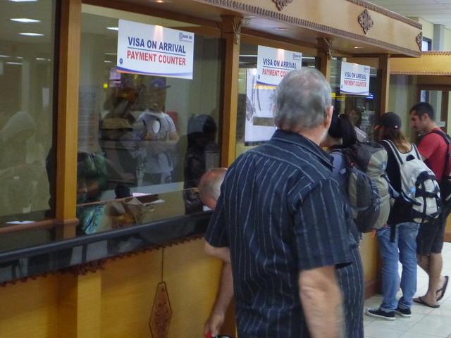$US25 Airport Arrival Visa Tax Bali Indonesia