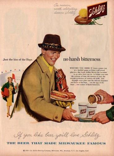 Schlitz-hotdogs
