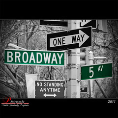 Broadway with the 5th av.