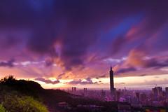 Raining Monsoon's Eve 東北季風前夕陽