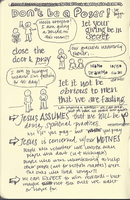 10/50 - Junior high service talk notes