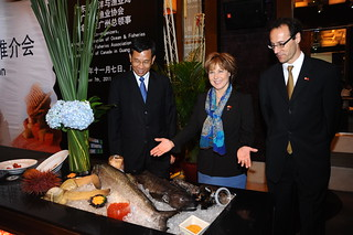 Promoting BC seafood in China