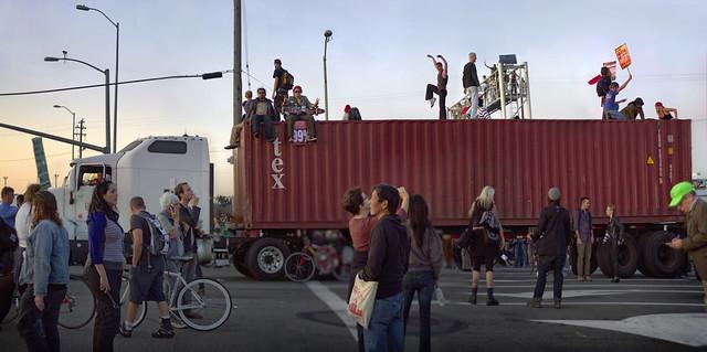 Occupy Oakland - November 2, 2011 - Oakland, CA