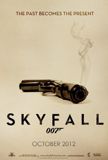 """""""Skyfall"""" Teaser Poster #007"""