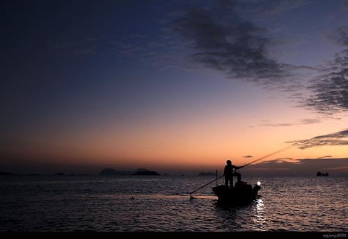 风景 旅行 日落 cpl 海边 周末