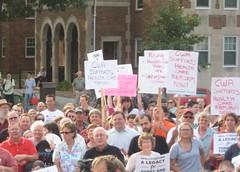 CWA at rally