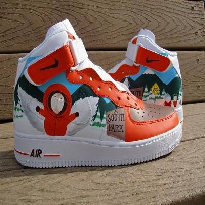 f2c312df884 South Park Custom Sneakers Nike Af1 · South Park Custom Sneakers Nike Af1 · Baby  Girl Camo Jordans