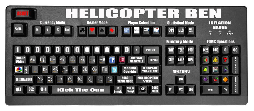 HELICOPTER BEN'S CUSTOM BLOOMBERG KEYBOARD