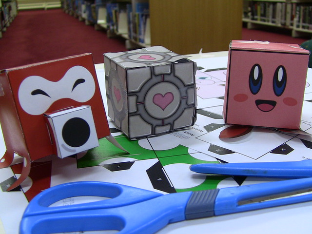 6349730146 a27ca20c14 z 19 of the Most Adorable and Bizarre Papercraft Creations