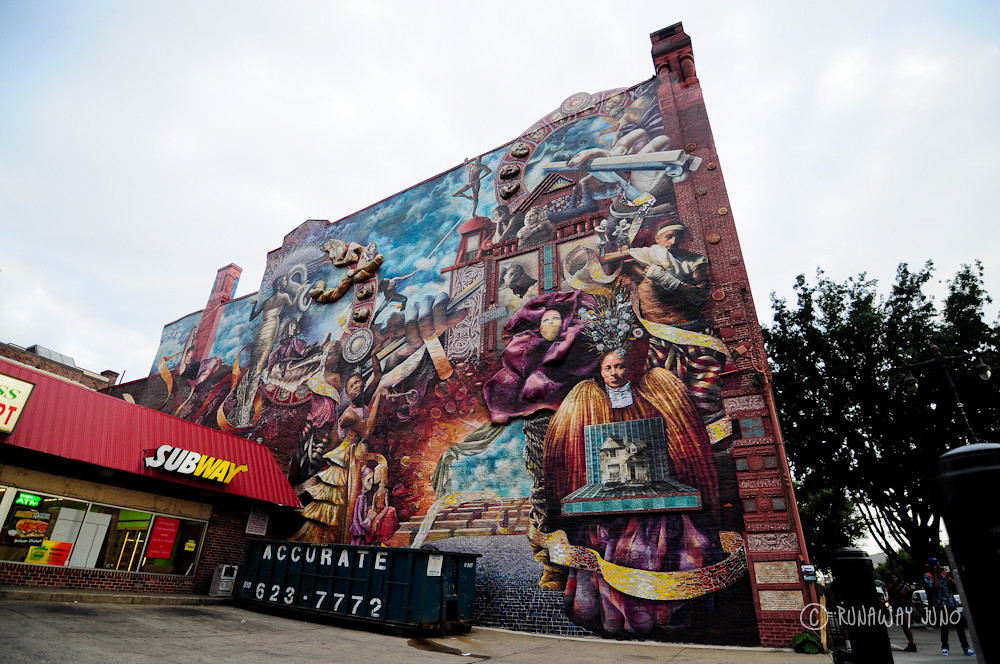 Theatre of Life: Ale & Art Mural Tour in Philadelphia, Pennsylvania
