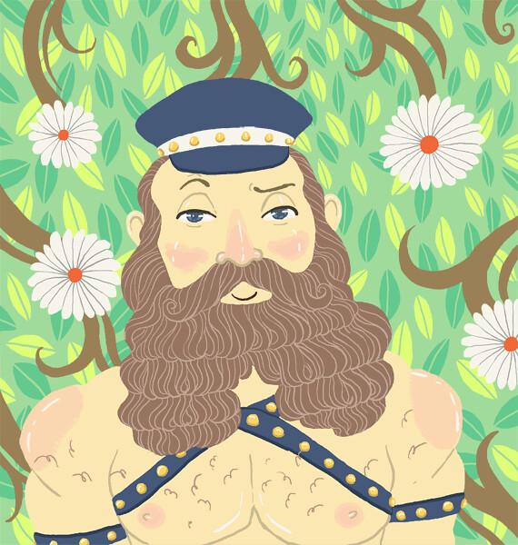 Ten Paces Illustration