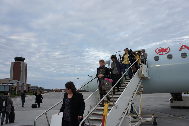 Air Canada Charter Flight: YYT-YYG In J - Airliners.net