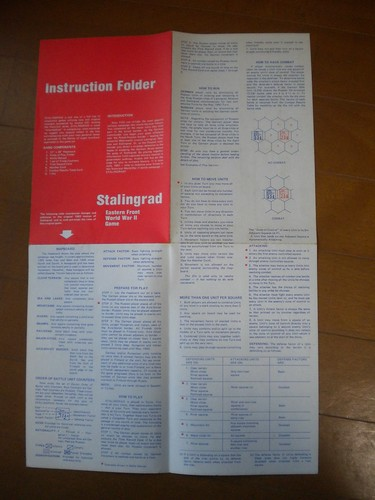Stalingrad - Instruction Folder
