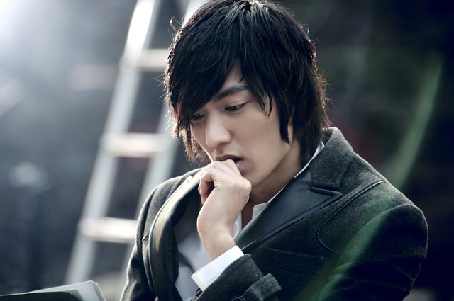 Lee min ho from his website