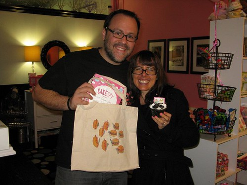 Me and Chris from Sugarush a Sweet Experience, Red Bank, NJ