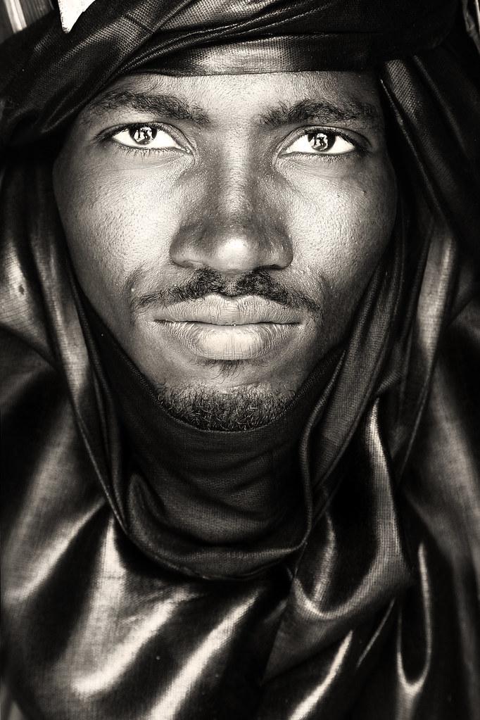 tuareg nomad north timbuktu / mali