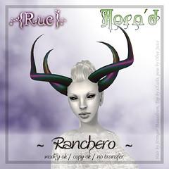 .{Rue}. Horn'd / Ranchero