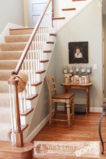 foyer staircase decor
