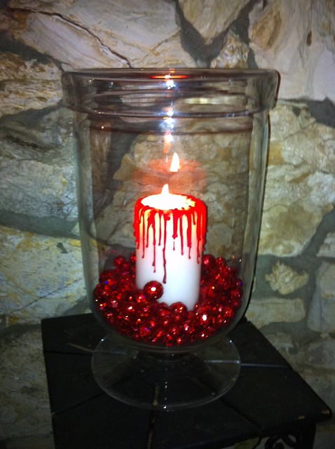 Breaking Dawn Premiere Party Candle Decoration