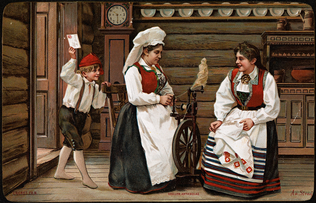 Julekort, ca 1894