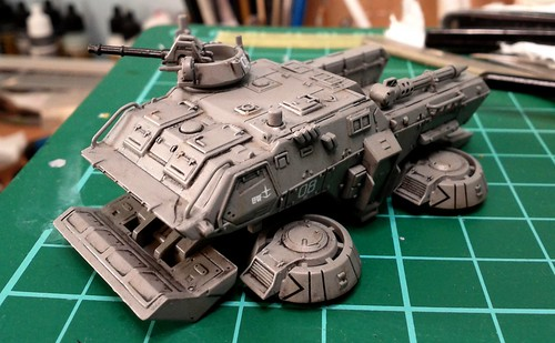 "U.C Hardgraph 1/144 - Type 74 Hover Truck ""The 08th MS Team"" - WiP 2"