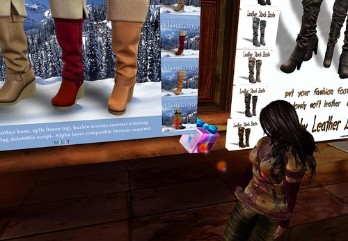 *MCS* Montana Shearling Boots MULTI GIFT, free by Cherokeeh Asteria