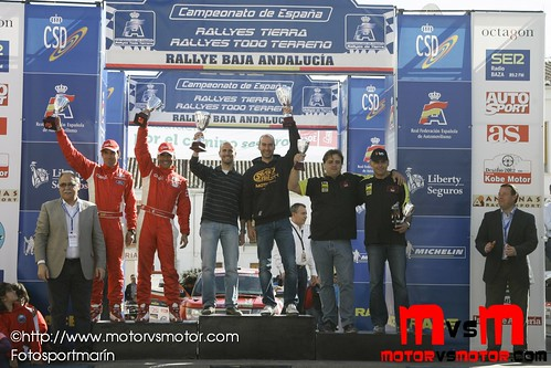 Podium Tierra Domingo
