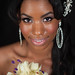 Kyara Williams : beautiful smile of a girl getting married