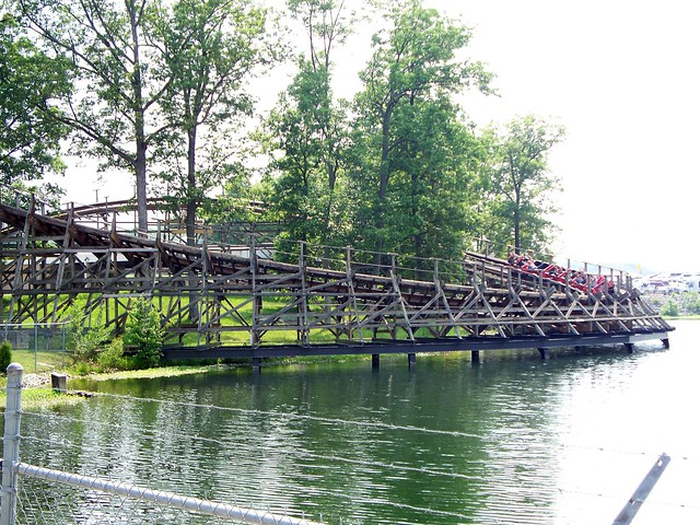 Holiday World - The Raven Turn Over Lake Rudolph