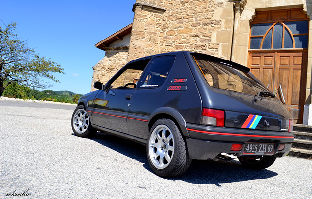 Peugeot 205 GTI PTS 1,9l