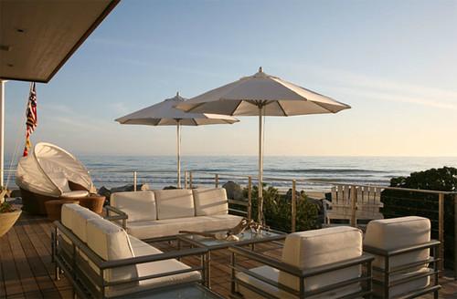 outdoor umbrella with patio